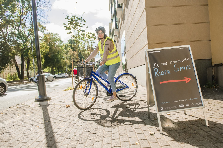 """""""Sirenas""""paskelbs dviratininkai.<br>Organizatorių nuotr."""