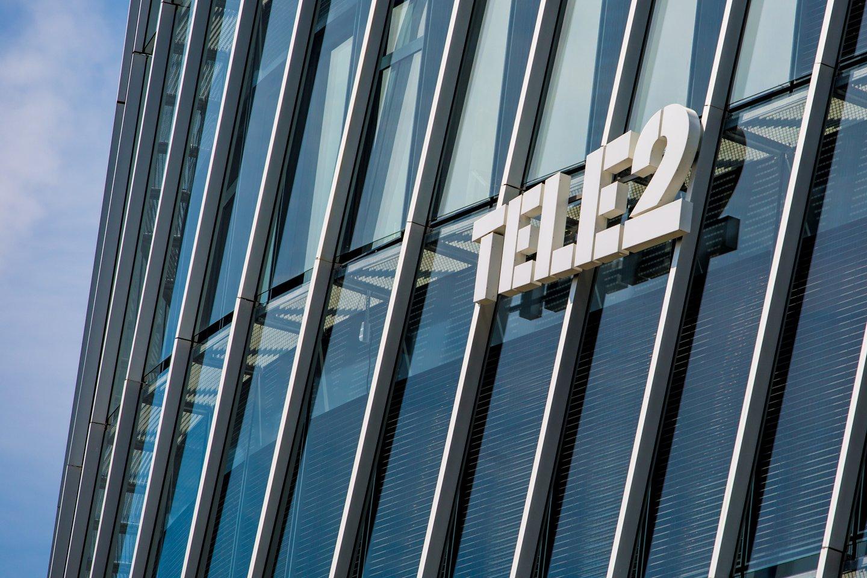 """Įvedus naujų karantino taisyklių, mobiliojo ryšio operatorius """"Tele2"""" perorganizuoja salonų darbą.<br>Pranešimo autorių nuotr."""