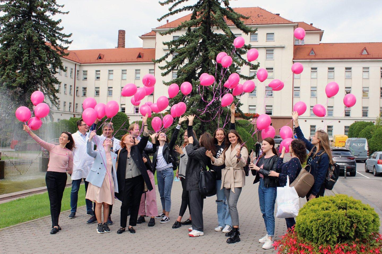 Rugsėjo 13 dieną Kauno klinikose paminėta sepsio diena.<br>Ž.Juciaus nuotr.