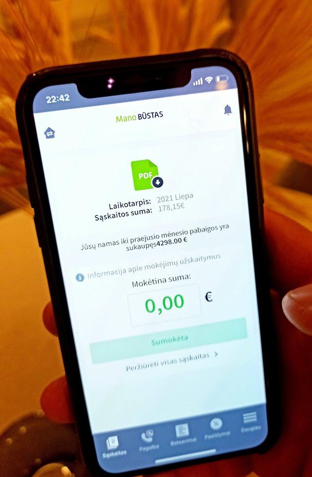 """""""Mano BŪSTO"""" klientai namo kaupiamųjų lėšų likutį bet kada gali patogiai pasitikrinti savitarnos svetainėje arba mobilioje aplikacijoje eBŪSTAS."""