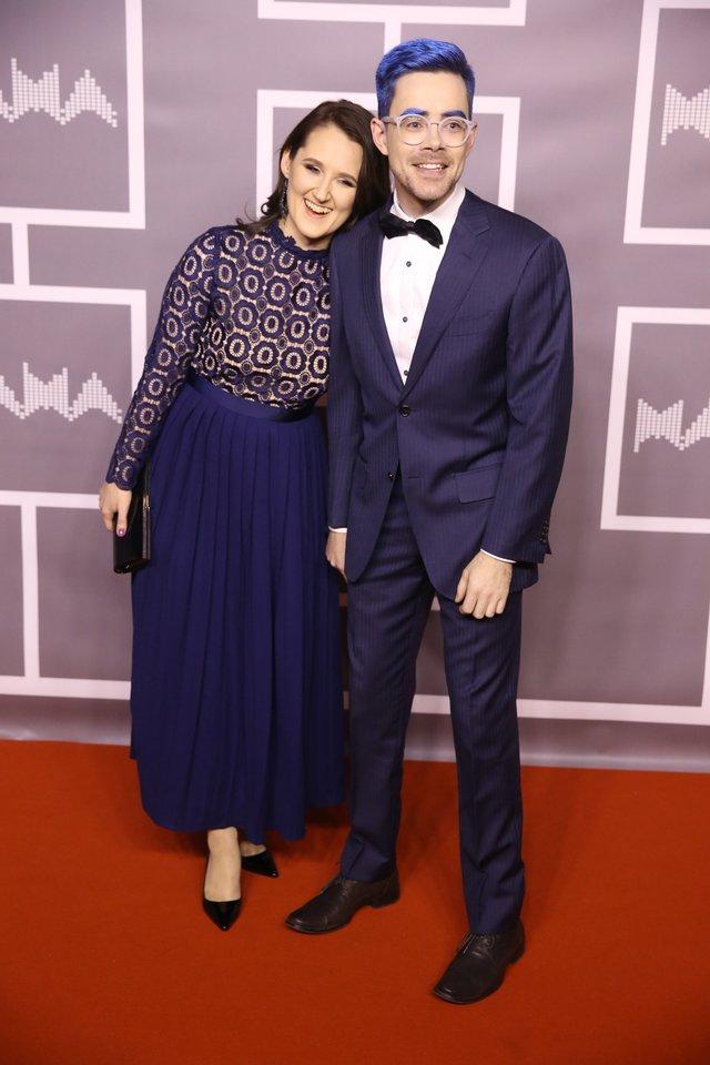 Timūras Augucevičius su žmona.<br>R.Danisevičiaus nuotr.