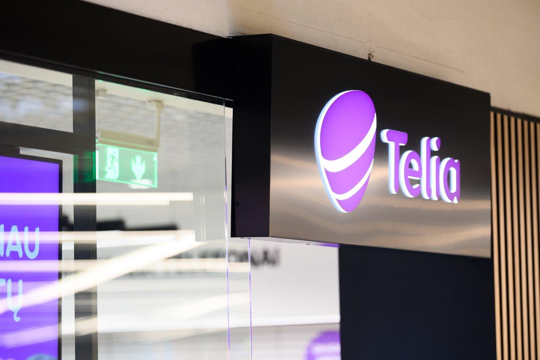 """Tvarka keičiasi ir """"Telia"""" klientams.<br>V.Skaraičio nuotr."""