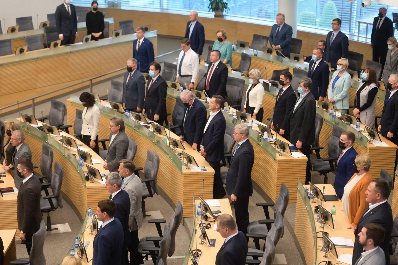 """Pagrindinis Seimo Ekonomikos komitetas siūlo nuo 10 tūkst. iki 30 tūkst. eurų padidinti neskelbiamų mažos vertės pirkimų """"lubas"""".<br>V.Skaraičio nuotr."""