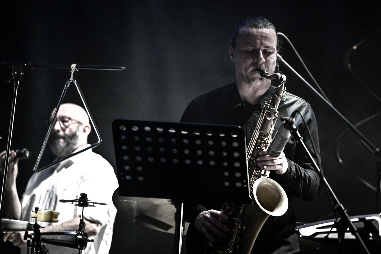 A.Gotesmanas (kairėje) ir L.Janušaitis.<br>V.Skaraičio nuotr.