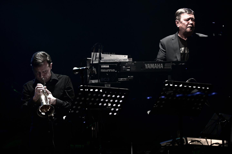 D.Pulauskas (dešinėje) ir V.Ramoška.<br>V.Skaraičio nuotr.