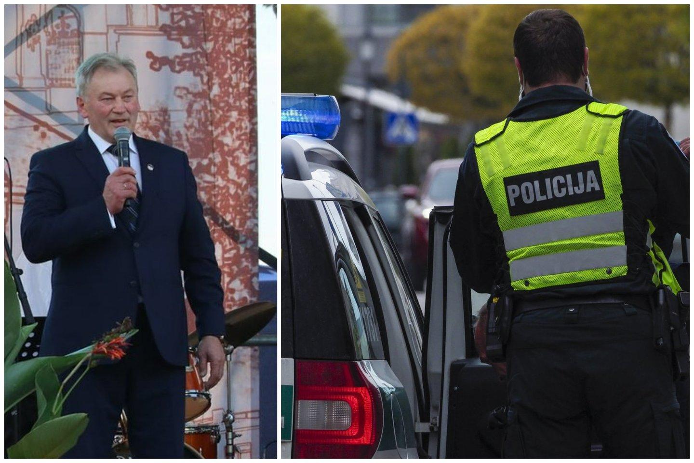 Po šventinio Kalvarijos mero priėmimo – kruvinas konfliktas: policija neigia, kad įvykį bandė nuslėpti.<br>Lrytas.lt koliažas