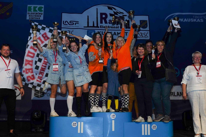 """Ketvirtasis šį sezoną """"Ladies Go"""" komandos organizuojamas SERES Nacionalinių Vairuojančių Moterų varžybų etapas buvo konstruojamas pagal tokį pat algoritmą, kaip ir ankstesnieji.<br>Jurgos Anusauskienės nuotr."""