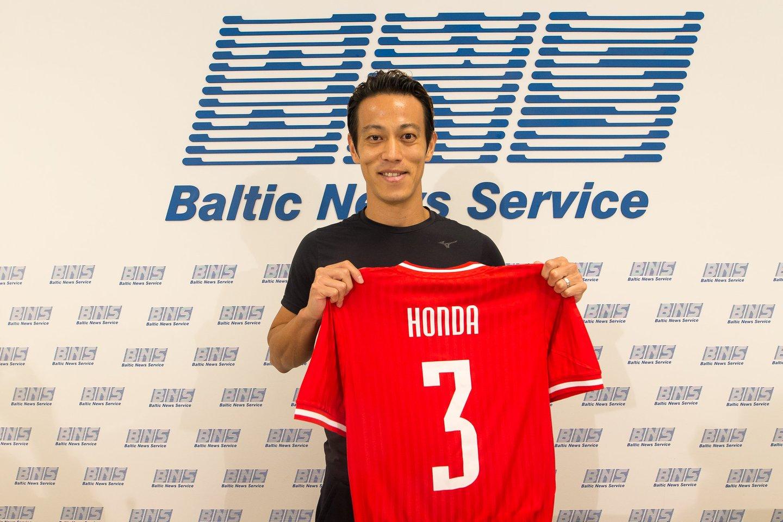 K.Honda rungtyniaus Marijampolėje.<br>E.Žaldario nuotr.