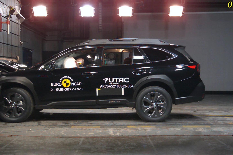 """""""Subaru Outback"""" pelnė maksimalų penkių žvaigždučių bendrą įvertinimą, surinkęs itin aukštą bendrą taškų vidurkį."""