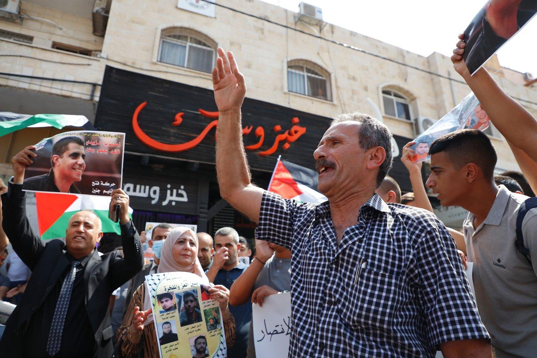 Beveik 1,4 tūkst. palestiniečių, laikomų Izraelio kalėjimuose, ruošiasi pradėti bado streiką<br>ZUMA Press/Scanpix nuotr.
