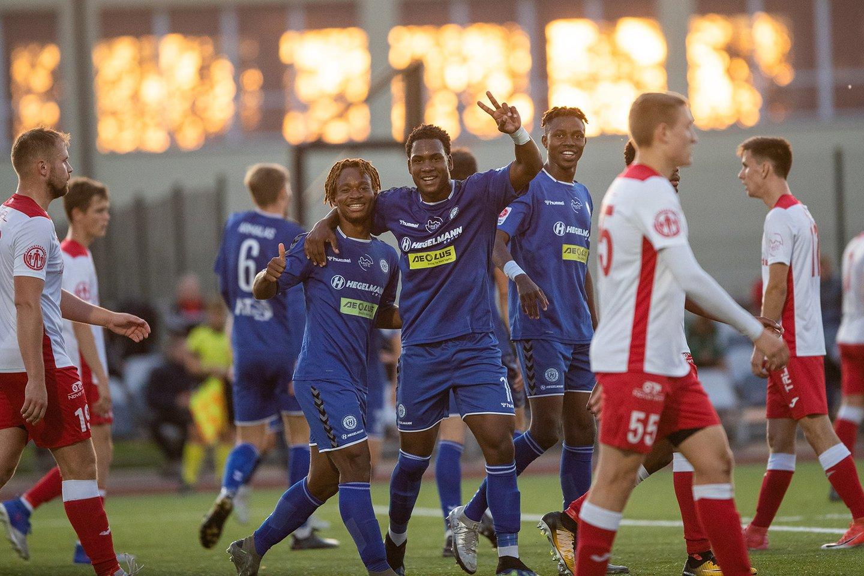 A.Skerlos auklėtiniai pateko į LFF taurės pusfinalį.<br>E.Kniežausko nuotr.