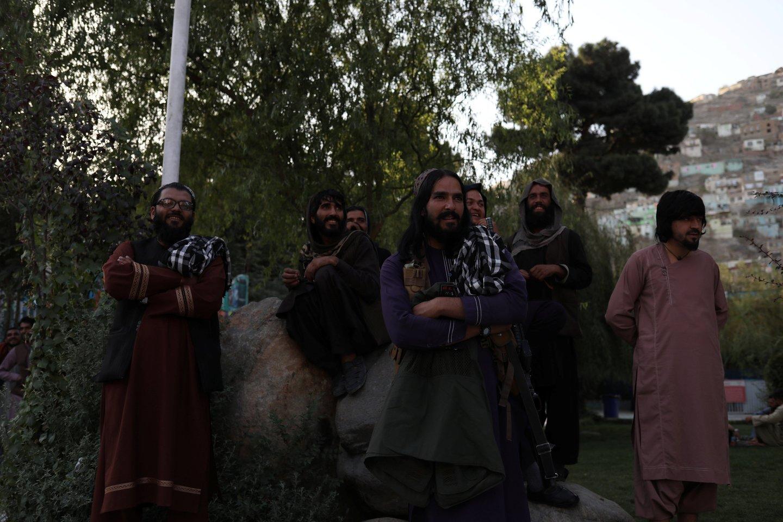 Talibanas tiria buvusių auk<br>Reuters/Scanpix nuotr.
