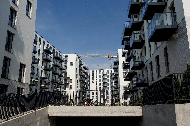 Besitęsiantis kainų augimas gali apsunkinti bent dalies gyventojų galimybes įsigyti būstą.<br>V.Ščiavinsko nuotr.