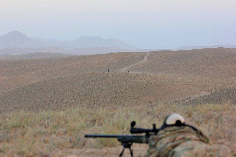Lietuvos karių Afganistane darytos nuotraukos.<br>Lietuvos kariuomenės archyvo nuotr.