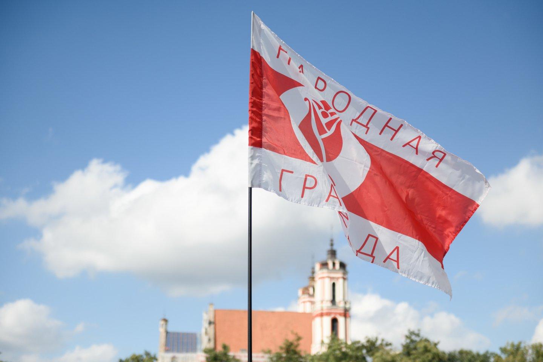 Prasideda tarptautinė kampanija už Baltarusijos žmogaus teisių gynėjų išlaisvinimą.<br>V.Skaraičio nuotr.