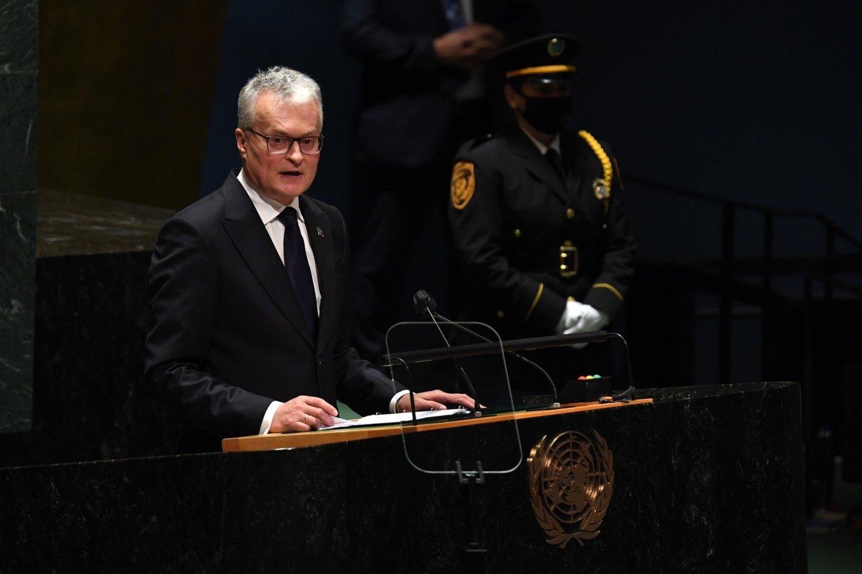 G. Nausėda kreipėsi į Jungtines Tautas: turime išardyti nelegalių prekiautojų žmonėmis veiklos modelį - Lrytas.lt