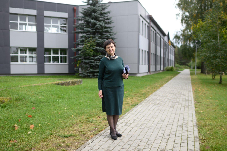 Mokytoja Vitalija Dovydėnienė.<br>V.Skaraičio nuotr.