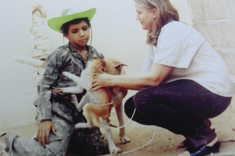 Viktoras greitai pritapo Malyje, tačiau mama jo niekada neišleisdavo iš akių.<br>Nuotr. iš asmeninio albumo