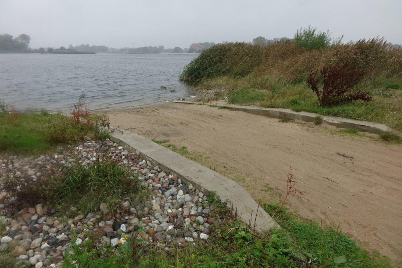 Tokiam projektui, kad būtų pastatytos Mingės ir Uostadvario kaimuose vandens transporto nuleidimo aikštelės.<br>www.silutesnaujienos.lt nuotr.