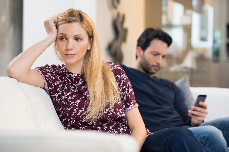 Paaiškėjo tobula laikytos poros paslaptis: žmona ilgus metus kentė vyro psichologinį smurtą.<br>123rf.com asociatyvioji nuotr.