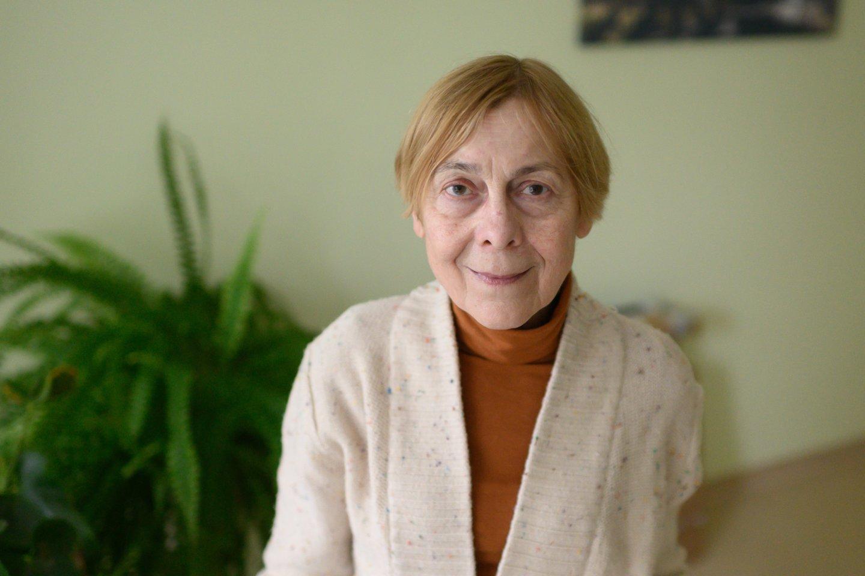Gimnazijos socialinė pedagogė Leonora Daugudienė.<br>V.Skaraičio nuotr.