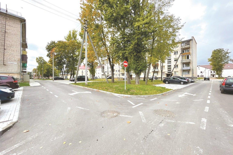 Sutvarkyti Algirdo, Kęstučio ir Parakinės gatvių kvartalai.<br>Aldo Surkevičiaus nuotr.