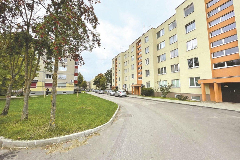 A. Kanapinsko gatvė taip pat pasikeitė neatpažįstamai.<br>Aldo Surkevičiaus nuotr.
