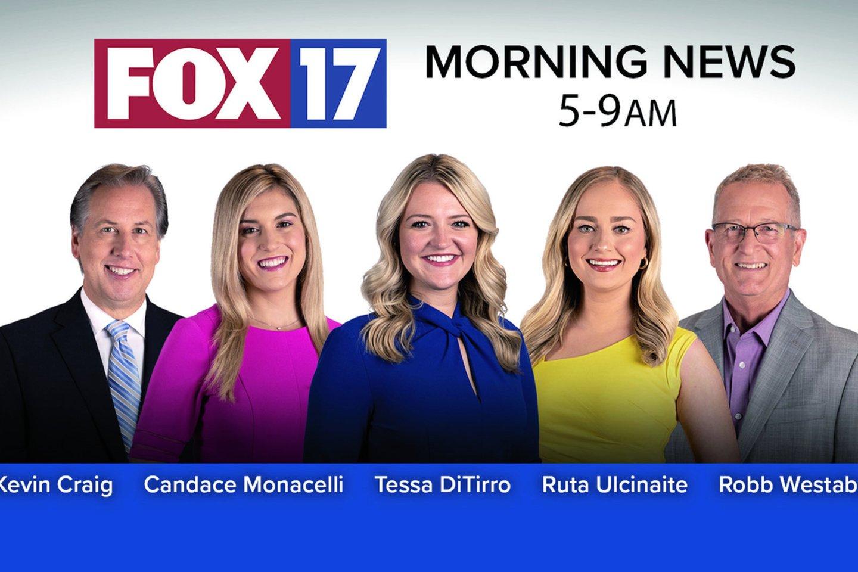 """""""Pamatę mano vardą ir pavardę žmonės tikrai atpažįsta lietuvaitę!"""" – sakė R.Ulčinaitė, tapusi ryto laidos """"Morning News"""" vakarų Mičigano televizijos kanale """"FOX17"""".<br>Asmeninio archyvo nuotr."""