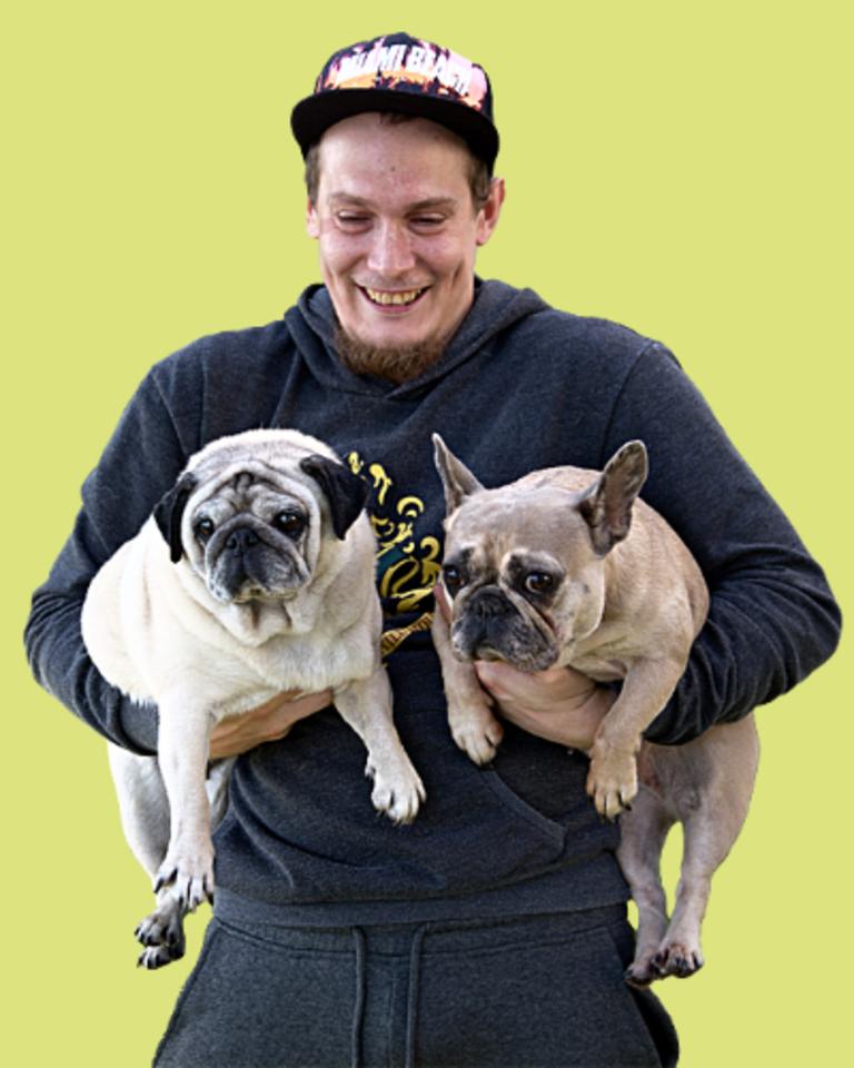 Likimo nuskriaustiems keturkojams padėti – verslo iniciatyva.<br>DogSpoto nuotr.