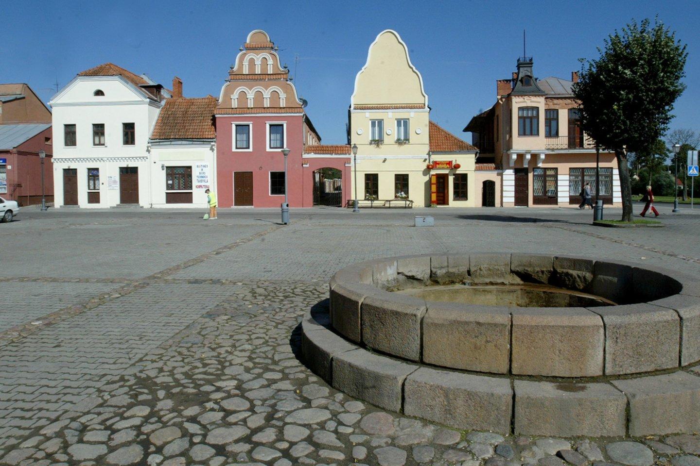 Kėdainių mieste kasmet daugėja priemonių eismo saugumui gerinti.<br>M.Vizbelio nuotr.