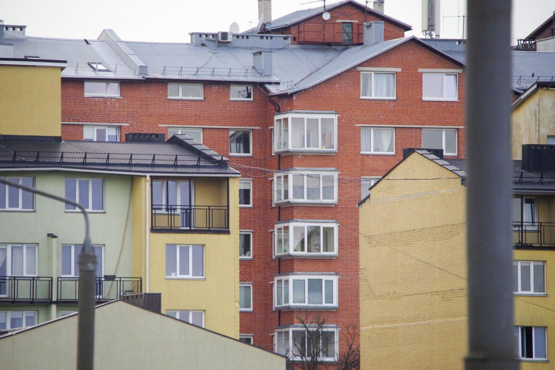 Gyventojai nuomonės apie būsto kainos kryptį nekeičia.<br>V.Ščiavinsko nuotr.