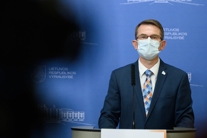 A.Dulkys sulaukia tvirto I.Šimonytės palaikymo.<br>V.Skaraičio nuotr.