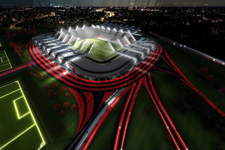 Stadiono vizualizacija.