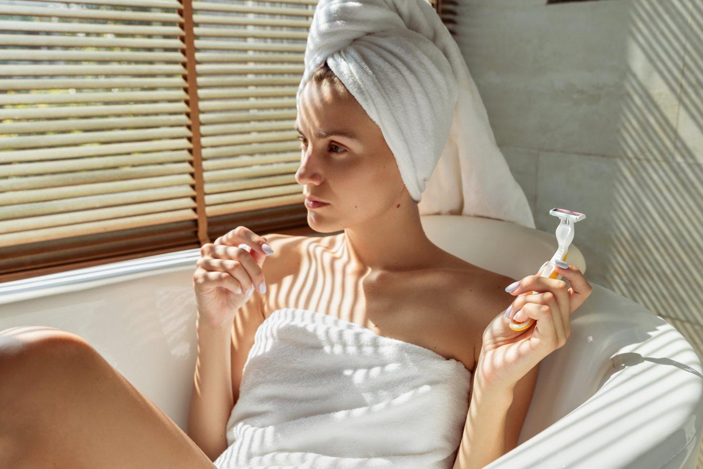 """Pamatęs, ką vonioje daro mergina, vaikinas sustingo: """"Sužinojau, ko nenorėjau"""".<br>123rf.com asociatyvioji nuotr."""