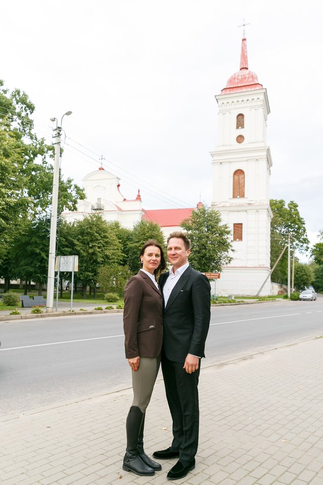 Žaneta Fomova ir Eugenijus Chrebtovas.<br>T.Bauro nuotr.