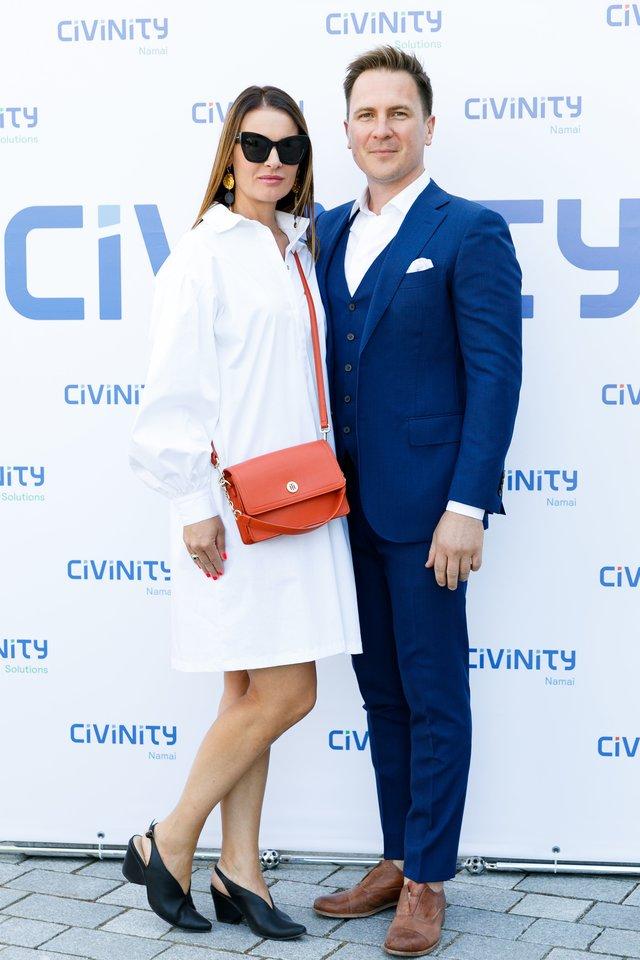 Žaneta Fomova ir Eugenijus Chrebtovas.<br>Organizatorių nuotr.