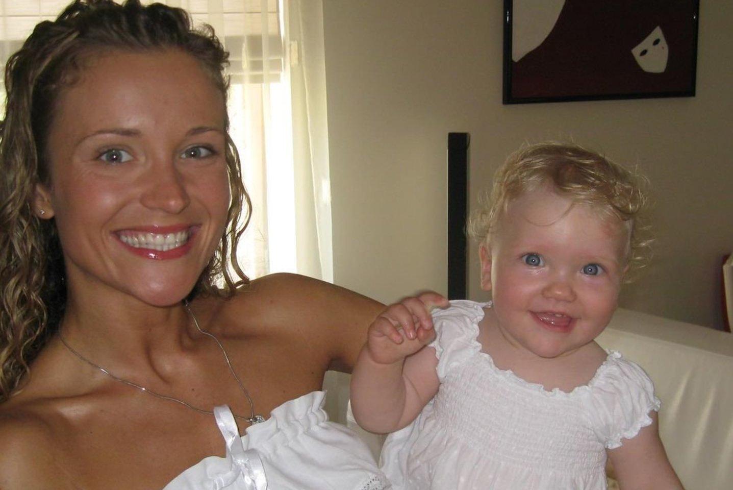 Edita Gozzoli su dukra.<br>Asmeninio albumo nuotr.