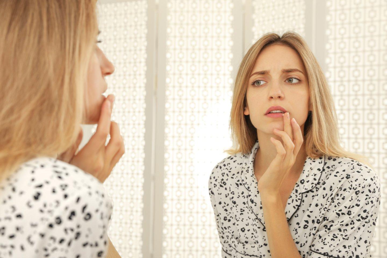 Pūslelinė – užkrečiama virusinė liga, tačiau apie 80 proc. sergančiųjų nejaučia jokių simptomų.<br>123rf nuotr.