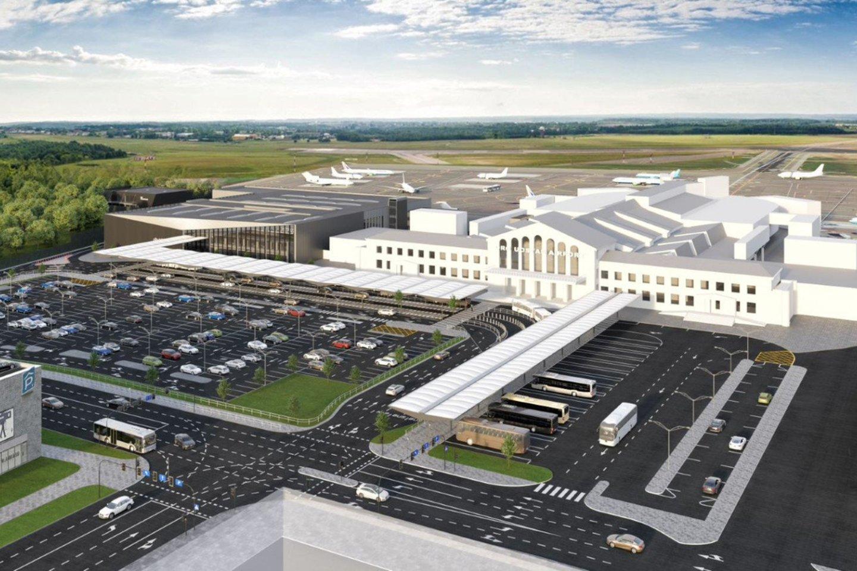 Vilniaus oro uostas, priklausantis Lietuvos oro uostų tinklui, paskelbė tarptautinį viešąjį pirkimą ir pradeda ieškoti rangovo, kuriam bus patikėta statyti naująjį keleivių išvykimo terminalo modulį šiaurinėje oro uosto dalyje.<br>Vizual.