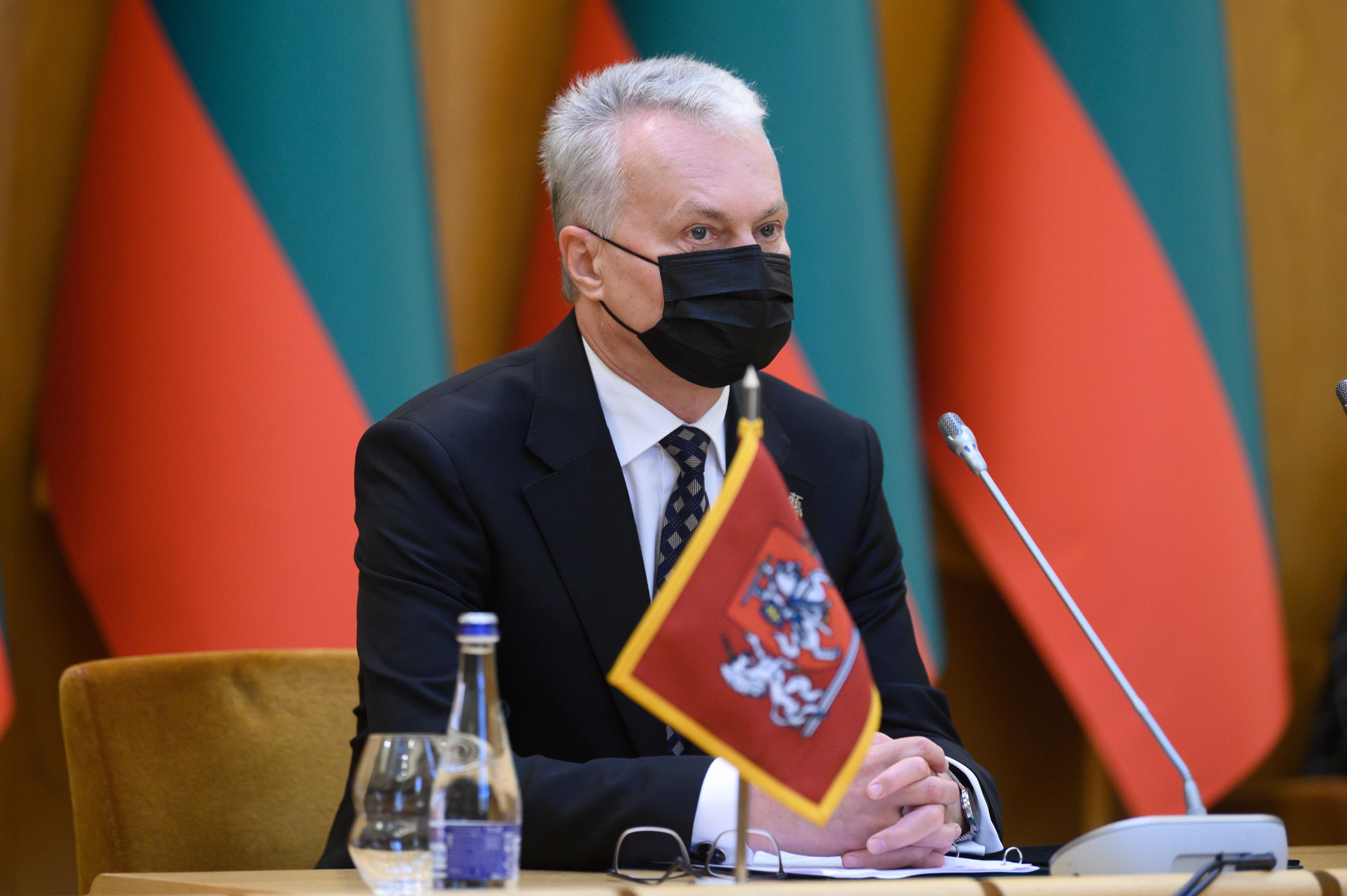 Gitanas NausėdaV.Skaraičio nuotr.