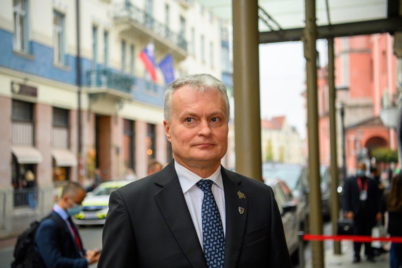 Gitanas Nausėda.<br>Prezidento kanceliarijos/R.Dačkaus nuotr.