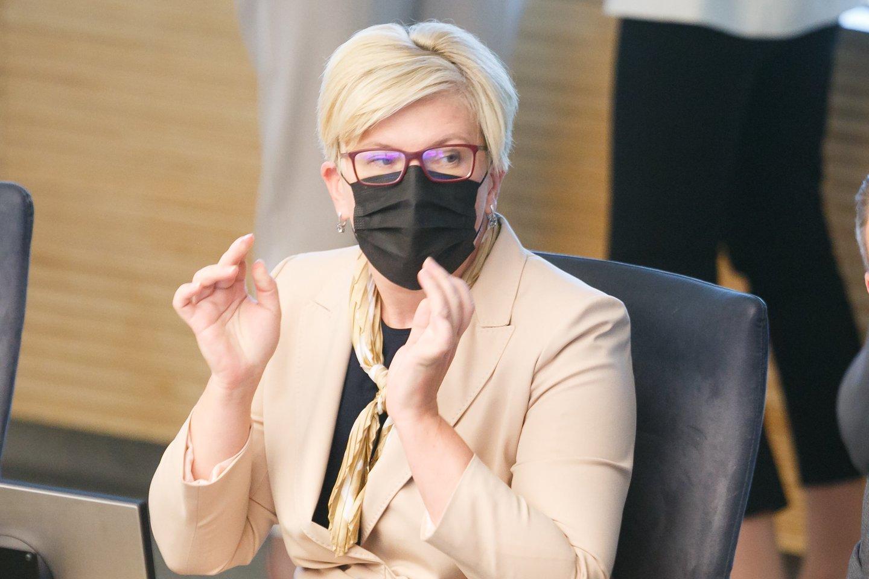 Ingrida Šimonytė.<br>T.Bauro nuotr.