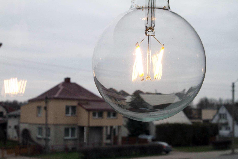 Aiškina, kad padėtų laikinas lengvatinis 9 proc. pridėtinės vertės mokesčio tarifas elektrai bei dujoms.<br>M.Patašiaus nuotr.