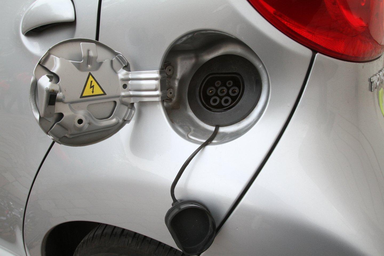 Pasak eismo specialisto, kažkada visur bus panaikintos privilegijos elektromobiliams, o Nida tai esą tiesiog padarė pirmoji.<br>M.Patašiaus nuotr.