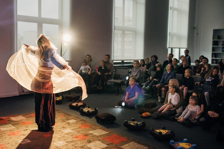 """Sekmadienį, spalio 17 d., prasideda jau septintąjį kartą rengiamas tarptautinis teatro festivalis kūdikiams ir ikimokyklinio amžiaus vaikams """"Labas"""".<br>Organizatorių nuotr."""