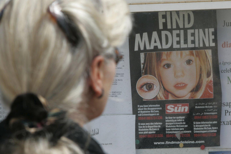 Madeleine McCann.<br>Reuters/Scanpix nuotr.