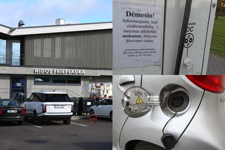 Pasak eismo specialisto, kažkada visur bus panaikintos privilegijos elektromobiliams, o Nida tai esą tiesiog padarė pirmoji.<br>Lrytas.lt fotomontažas.