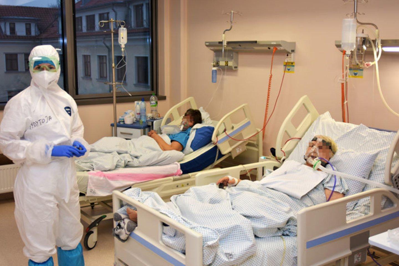 Koronavirusas Lietuvoje.<br>Respublikinės Klaipėdos ligoninės nuotr.