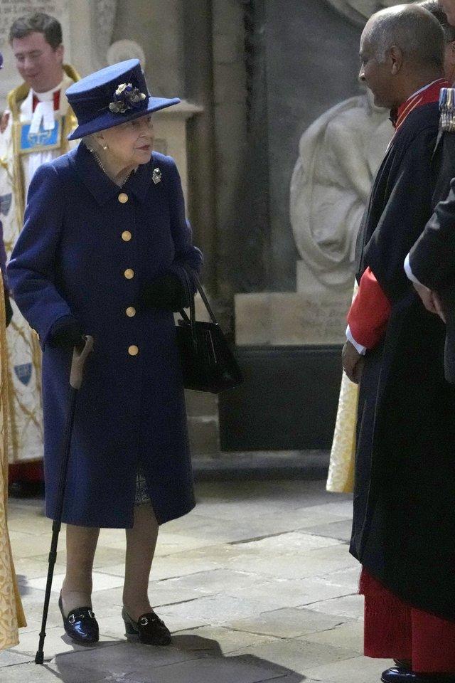 Karalienė Elizabeth II.<br>Scanpix nuotr.