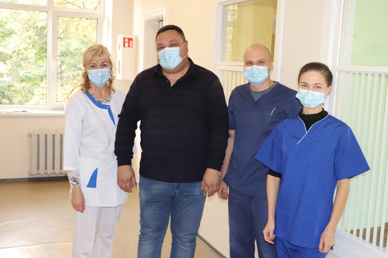 Šilutės ligoninės medikai<br>Šilutės ligoninės nuotr.